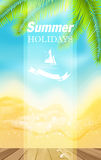 Summer holidays . Stock Image