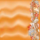 Summer holidays  illustration Royalty Free Stock Images
