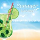 Summer holidays  illustration Stock Image