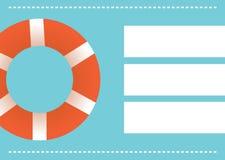 Summer holidays illustration framework. 2d design of Summer holidays illustration framework Royalty Free Stock Image