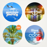 Summer holidays illustration Royalty Free Stock Photography