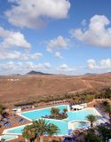 Summer holidays on Lanzarote Royalty Free Stock Image
