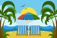 Summer Holidays Postcard Stock Image
