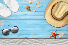 Summer, holidays and relax Royalty Free Stock Photography