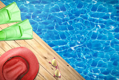 Summer, holidays and relax Royalty Free Stock Image