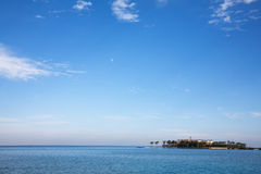 Summer holidays resort on the seaside. Of the Red Sea royalty free stock image