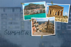 Summer holidays. Sicily. Italy Royalty Free Stock Photos