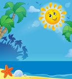 Summer holidays theme image 2 Royalty Free Stock Images