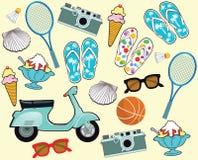 Summer holidays Tourism Stock Image