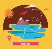 Summer holidays, travel around the world Stock Photo
