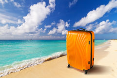 Summer holidays on the tropical beach Royalty Free Stock Photography