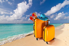 Summer holidays on the tropical beach Royalty Free Stock Images