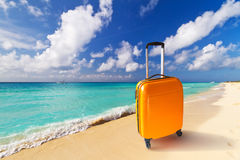 Summer holidays on the tropical beach Stock Photo