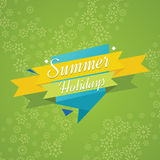 Summer holidays vector background. Super Sale banner Royalty Free Stock Photography