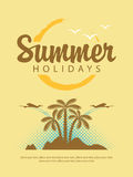 Summer holidays Royalty Free Stock Photos