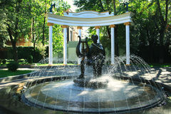 Summer in Holland Park Stock Image