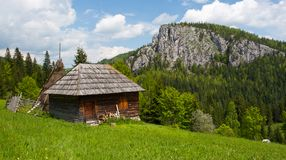 Summer homestead Transylvania, Romania Stock Photography