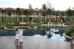 Summer honeymoon Royalty Free Stock Photos