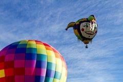 Summer Hot Air Balloon Festival Stock Photo