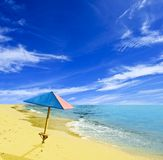 Summer hot beach Royalty Free Stock Photos