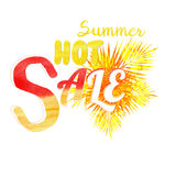 Summer hot sale Royalty Free Stock Photo