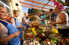 Summer hotel food festival Royalty Free Stock Photo