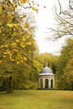 The summer house 3. A small 17th century open summer shelter for the rich in a public park (Zeist) Holland Royalty Free Stock Photo