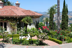 Summer House, Hearst Castle Stock Photography