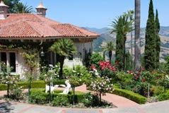 Summer House, Hearst Castle. Photo of Summer House, Hearst Castle, California, USA Stock Photography