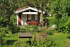 Summer house Royalty Free Stock Photography