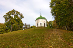Summer house in Kachanivka palace Royalty Free Stock Images