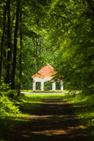 Summer house near Milotice castle, Royalty Free Stock Photography