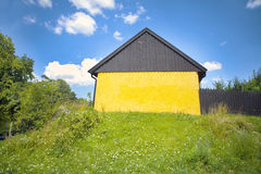 Summer house Northern Europe Royalty Free Stock Photo