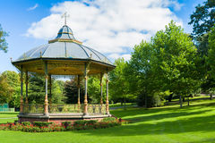 Summer house in park Stock Photography