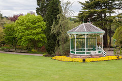 Summer house in a park Stock Photography