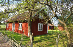 Summer house in Sweden Stock Photos