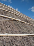 Summer House - Thatched Roof. A closeup of the thatched roof of a summer house stock image