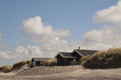 Summer Houses in Denmark. Royalty Free Stock Photos