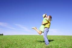 Summer Hug Royalty Free Stock Image