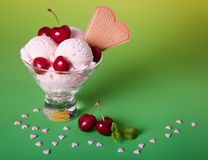 Summer ice cream Stock Images