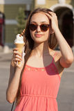 Summer ice cream fun. Stock Photo