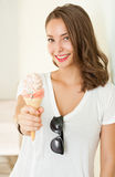 Summer ice cream fun. Royalty Free Stock Images