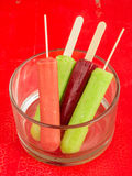 Summer Ice Pops Royalty Free Stock Images