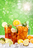 Summer iced tea Royalty Free Stock Image