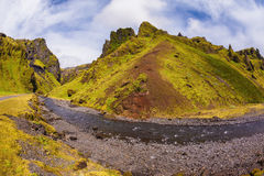 Summer  Iceland Stock Images