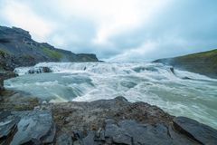 Summer iceland landscape with... Royalty Free Stock Images