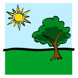 Summer Icon Royalty Free Stock Images