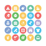 Summer  icons 6. We are offering a new set of summer icons pack. Optimise these icons in your vacations, beaches and travel projects, This pack contains swimming Stock Photography