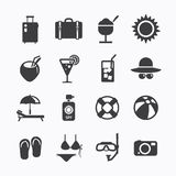 Summer Icons Set design. Icons for web design and infographic.Ve Stock Photo