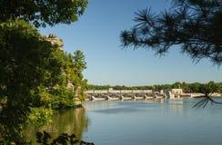 Summer on the Illinois River. Stock Photo